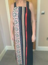 Warehouse Women's Size 12 Aztec Pattern Maxi Dress Brand New