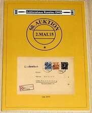 Briefmarken-Katalog - Auktionshaus Rosslau OHG - 50. Auktion 2015
