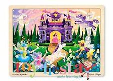 Melissa & Doug Fairy Fantasy Jigsaw 48pce Mnd3804