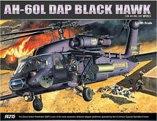 Academy 1/35 AH-60L DAP BLACK HAWK Helicopter Plastic Model Kit Cartograf 12115