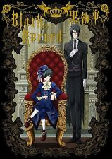JAPAN Black Butler Kuroshitsuji Animation Art book Record