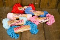 Caron Cotton Terry Yarn Lot Skeins Mixed Colors Vintage New Old Stock