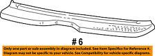 FORD OEM Rear Bumper-Step Pad Protector Scratch Guard Cover 1L2Z17B807AAA