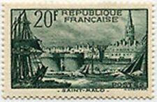 "FRANCE STAMP TIMBRE N° 394 "" PORT DE SAINT MALO 20F "" NEUF x TB"