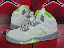 Nike Air Jordan 5 Retro Sz 5Y Gs Green Bean Gray 3M - X V I 23