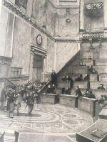 Works of Victor Hugo-Francois Flameng-Original Etching- 1888 -Signed in Plate