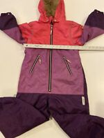 Girls Ticket to Heaven - Overall M.Snow suit Unisex -Size 5 Years zipper pockets