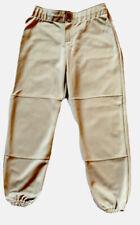 Rawlings Women's Softball Pants Size Small Knee Length Gray W/ Black Logo New