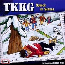 """TKKG """"SCHOCK IM SCHNEE"""" CD HÖRBUCH NEU"""