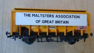 TRIX BULK GRAIN HOPPER WAGON ' THE MALTSTERS ASS. OF GREAT BRITAIN'
