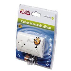 Kidde 7CO Carbon Monoxide Gas Detector Alarm Includes Batteries Home / Caravan