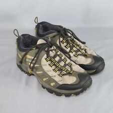 Columbia XCR Gore-Tex Waterproof Hiking Shoes Mens 9 Green Walking Camping