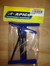 Nuevo Apico 4 piezas T Set 6mm, 8mm, 10mm, 12mm MX ENDURO AZUL