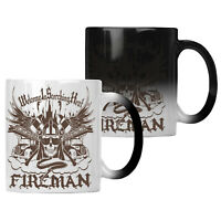 Welcome In Scorching Heat Fireman Firefighter Colour changing 11oz Mug hh742w