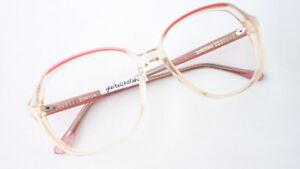 Brille Fassung Gläser groß Gestell Boho Vintage Plastik lunettes dezent Grösse M
