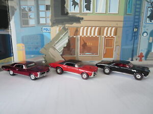 HOT WHEELS AND JOHNNY LIGHTNING 67 GTO REAL RIDERS SPECIAL EDITIONS
