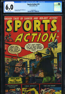 SPORTS ACTION #10 - CGC-6.0, WP - Atlas - 2nd highest graded!