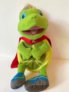 "Mattel Viacom Fisher Price Wonder Pets Tuck Turtle plush 15"""