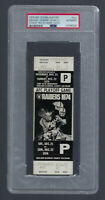 VINTAGE 1974 AFC MIAMI DOLPHINS @ OAKLAND RAIDERS FULL TICKET SEA OF HANDS PSA
