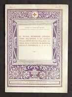 Croce Rossa - Scuole Infermiere estere e scuola annessa Università - 1926