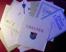 1980-1998 URKUNDENNACHLASS - CSU-Funktionär - Unterhaching - München