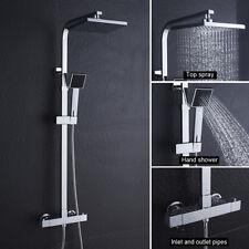 Duschsystem Thermostat Duscharmatur Regendusche Duschset Duschkopf Handbrause