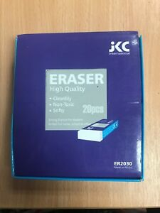 High Quality Erasers - Box 20