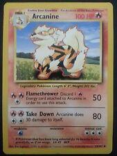 Pokemon Card Base Set Arcanine 23/102