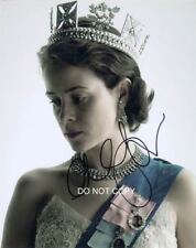 """Claire Foy in The Crown Netflix 8x10"""" Photo Reprint Autographed #1 RP Queen"""