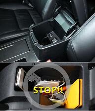 Blak Car Inner Central Btorage Box Cover Trim 1pc Fit For Honda CR-V 2012-2016