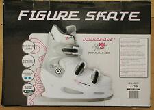 Nijdam Lake Placid Figure Skates Size 39 0031-WZF-39 White Silver Size 39 - New