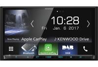 KENWOOD DMX-7017DABS Moniceiver Bluetooth USB Apple CarPlay Android Auto DAB