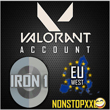 Valorant Account (EU West) | IRON 1 + Ready For Competitive + Full Access
