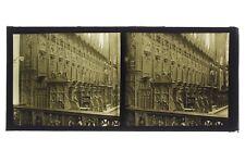 Intérieur d'une cathédrale Photo Plaque B verre Stéréo Positif Vintage 6x13 cm
