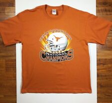 Texas Longhorns Mens XL 2005 NCAA National Champions Short Sleeve T-Shirt