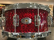 Rogers DynaSonic 6.5x14 Maple Snare Drum in Red Onyx With Free Ahead Case!