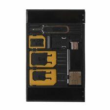 SIM Card Adapter Storage Case Kits For Nano Micro SIM Card TF Memory Card Reader