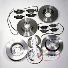 2 discos de freno ventilado Ø 258 mm 4 agujero balatas warnkontakt delante