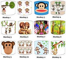 Carino Scimmia Paralumi Ideale Per Scimmia Piumini & Scimmia Finestre Adesivi