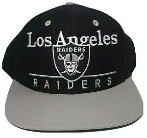 Los Angeles RAIDERS Snapback Cap Hat REEBOK Vintage Collection NFL Adult New