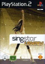 PS2 / Sony Playstation 2 - SingStar Legends mit OVP