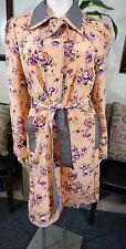 Z SPOKE ZAC POSEN Floral & Gingham Watercolor Jacket Spring Sz 14  $695