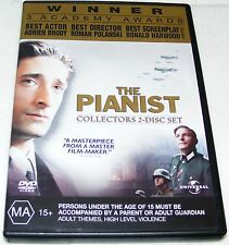 THE PIANIST---( Dvd 2 Disc Set)