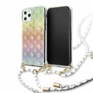 Guess® Iridescent Cord Peony Electroplated Case for iPhone 11 Pro Max Multicolor