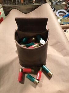 shotgun shell pouch for trap shooting hand made