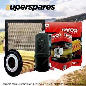 Ryco Oil Air Fuel Filter Service Kit for Volkswagen Amarok 2H 400 420 340 TDI