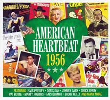 AMERICAN HEARTBEAT 1956 - VARIOUS ARTISTS  (NEW SEALED 2CD)