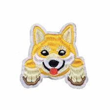 Shiba Inu Puppy Dog (Iron on)  Embroidery Applique Patch Sew Iron Badge