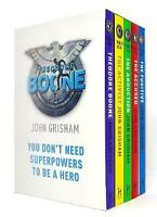 NEW Theodore Boone 5 Books Collection by John Grisham Library Slipcase Gift Set!