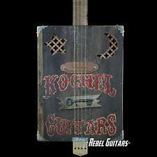 Kochel Guitars Good Juju Gig Series salvaged wood box guitar w/ pickup